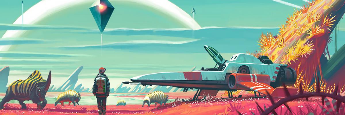 No Man's Sky, Terraria en el espacio