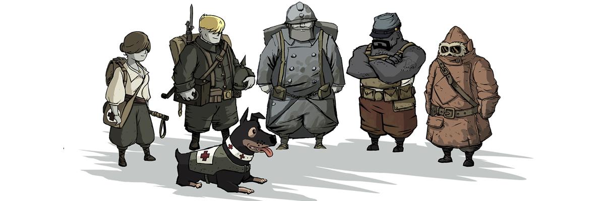 Valiant Hearts, el juego de acariciar al perrete