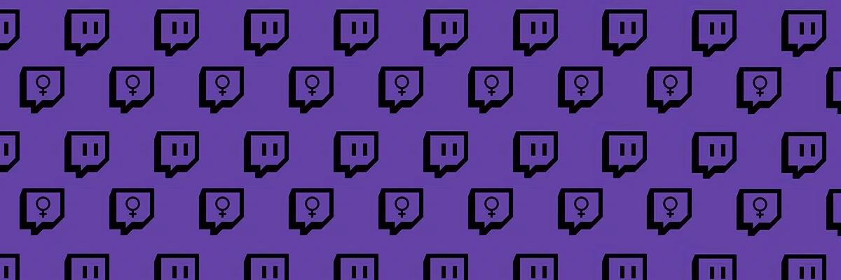 Ser mujer en Twitch