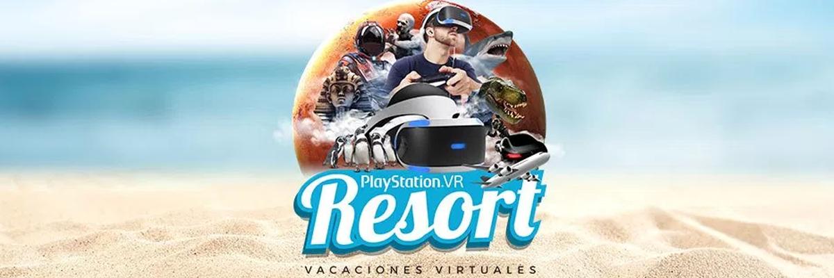 Vacaciones virtuales con PS Resort y degustación de juegos veraniegos