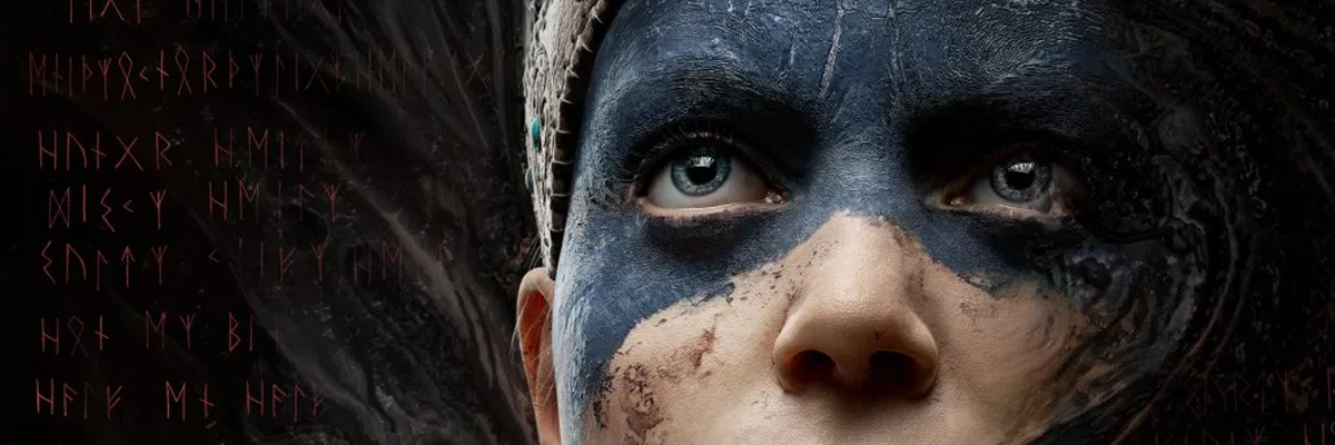 "Hellblade: Senua's Sacrifice. ""Through this darkness you will find him… """