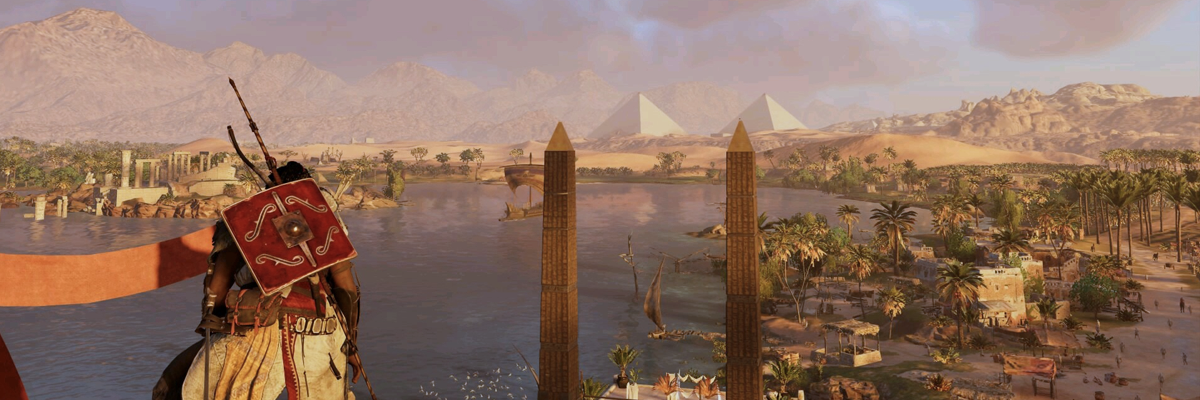 Assassins Creed: Origins. Primeros pasos por el Egipto de Cleopatra