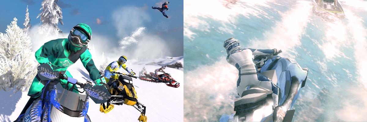 Aqua Moto Racing Utopia y Snow Moto Racing Freedom, primeras impresiones