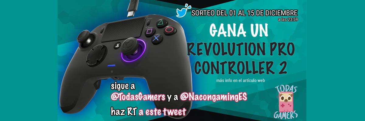 ¡Regalamos un revolution pro controller 2!