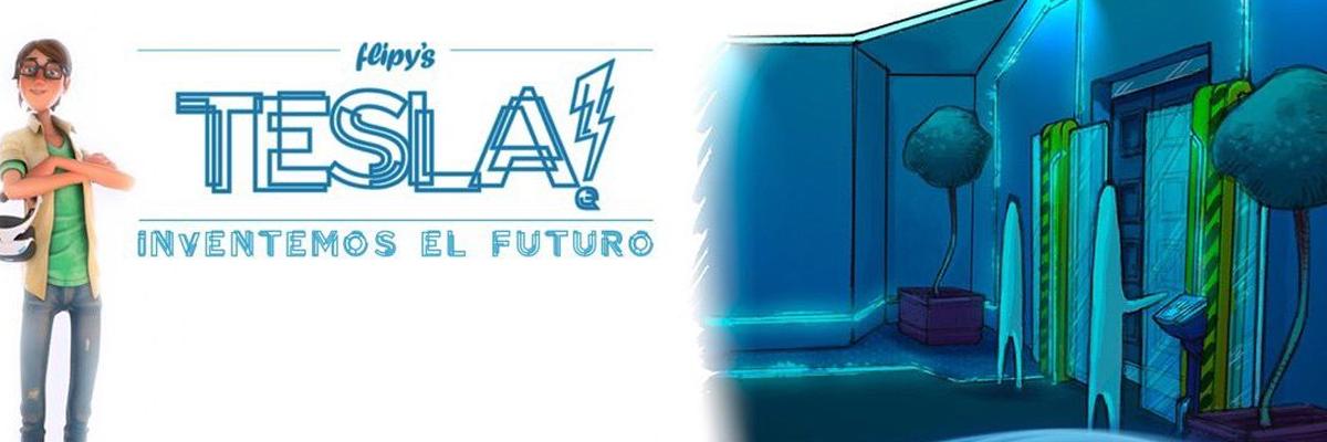 Presentación de Flipy's Tesla! Inventemos el Futuro