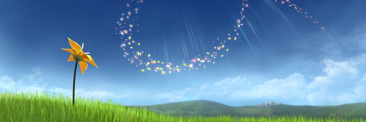 Flower: Ser un pétalo en un prado muerto