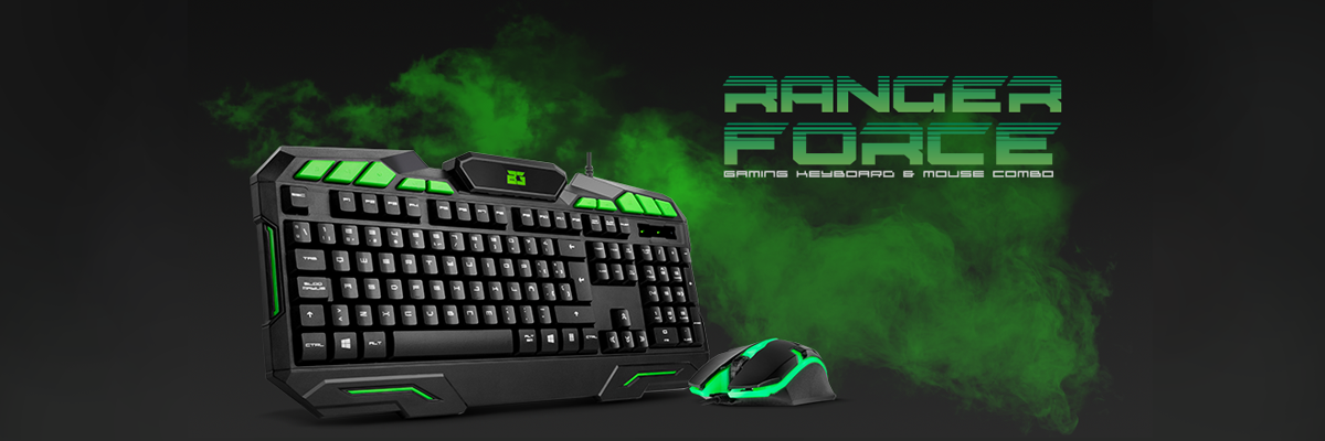 [Review] Ranger Force: Gaming Keyboard & Mouse Combo