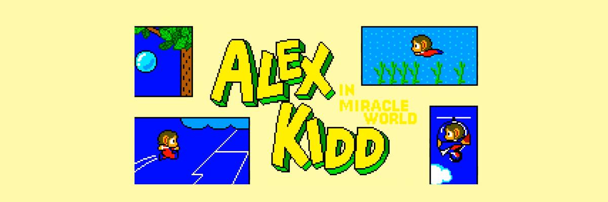 Alex Kidd, un drama en 8 bits