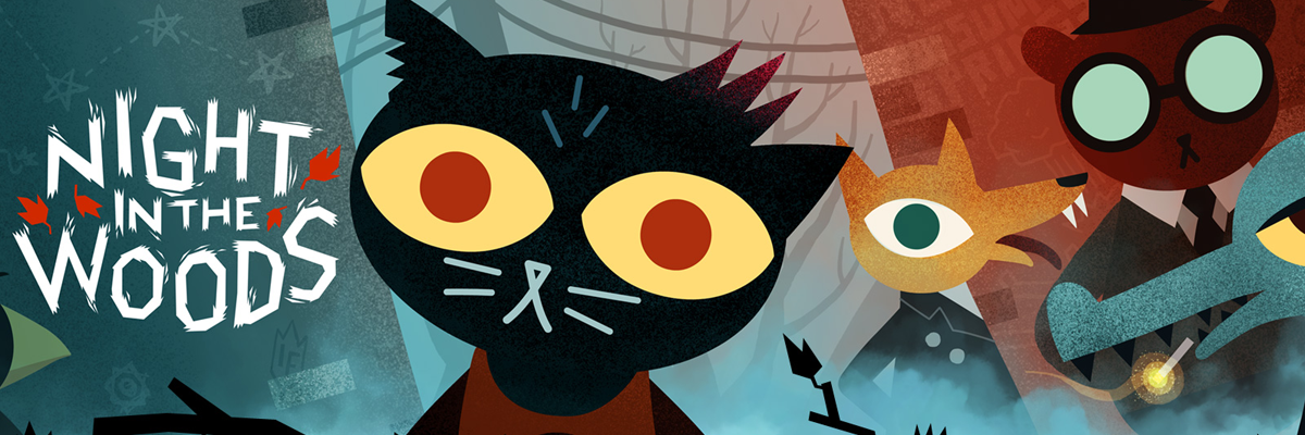 Night In The Woods, o sobre estar perdida y querer encontrarse