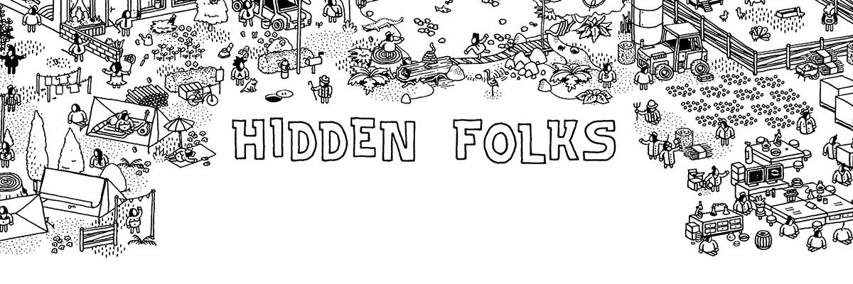 Hidden Folks: Buscar y descubrir entre gente pequeña