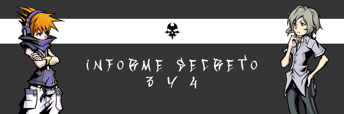 Informe secreto 3 y 4 | The World Ends With You