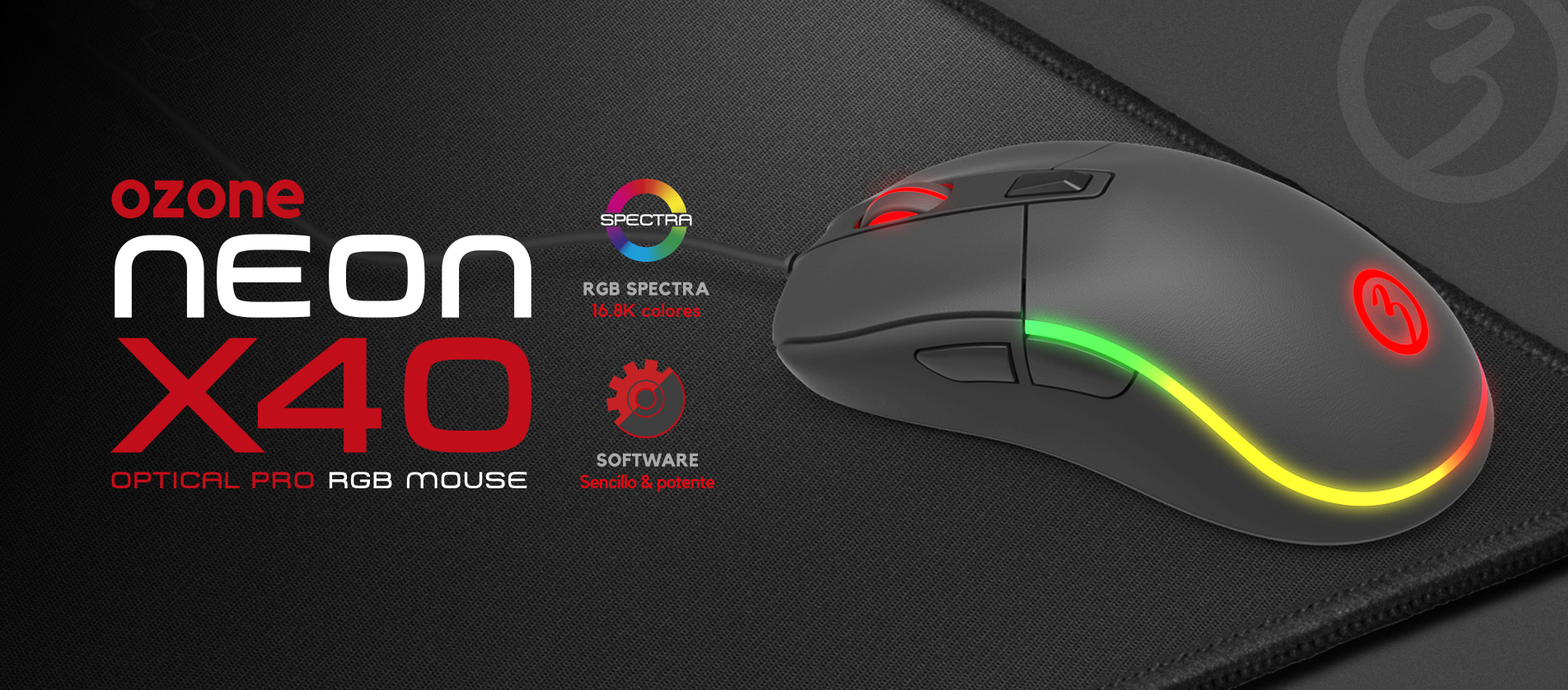 [REVIEW] Ratón Ozone Neon x40