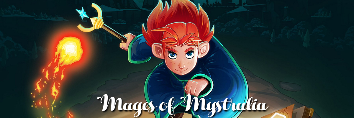 Mages of Mystralia: hechizos a la carta