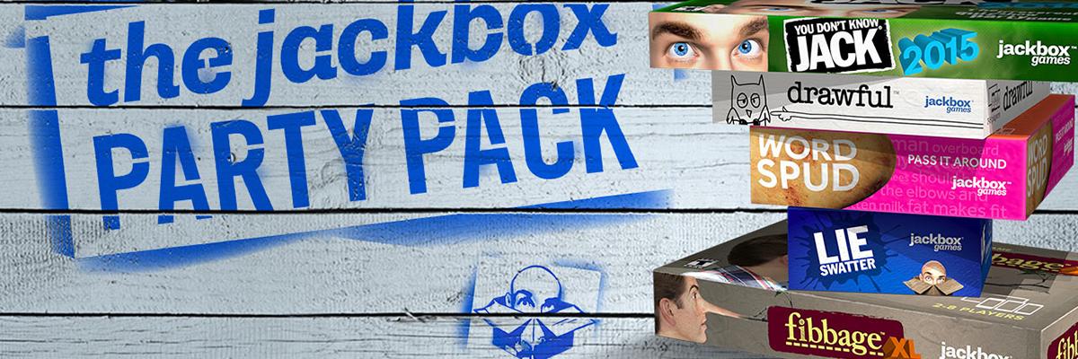 JACKBOX PARTY PACK: Los nuevos juegos reunidos