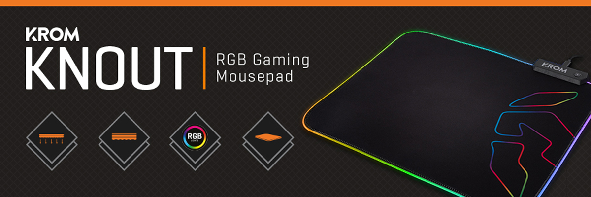 [REVIEW] KNOUT RGB GAMING MOUSEPAD
