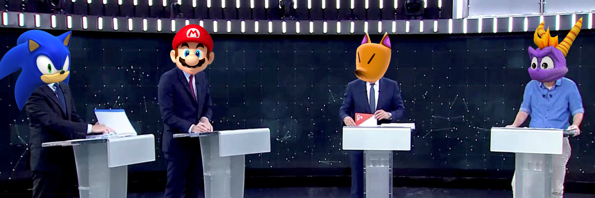 ¿Quién lo ha dicho: político o personaje de videojuego?