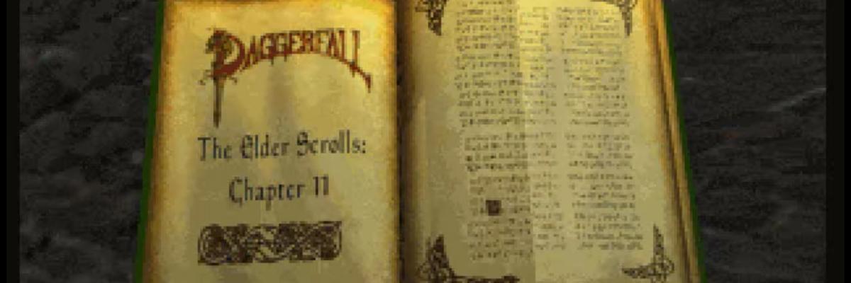 The Elder Scrolls: Daggerfall – Para, que te matas