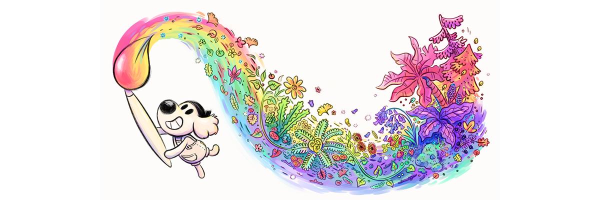 La colorida historia de Puchero, digo… Chicory