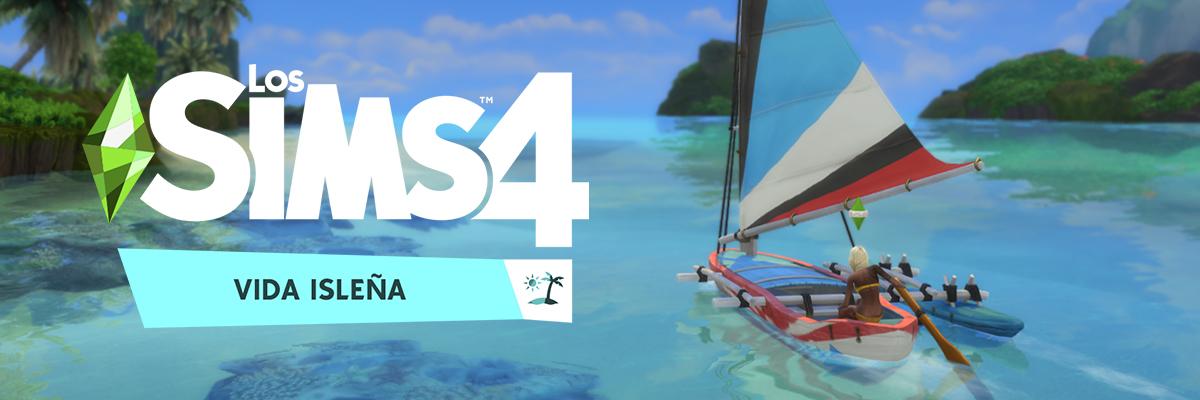 Los Sims 4: Vida Isleña. ¡Uy qué calor, amiga!