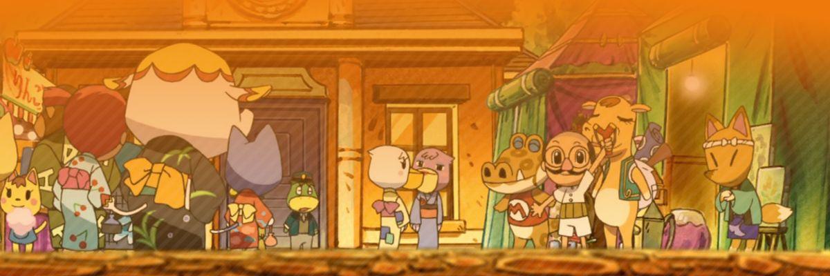 La película de Animal Crossing, sinestesia y cosas naranjitas