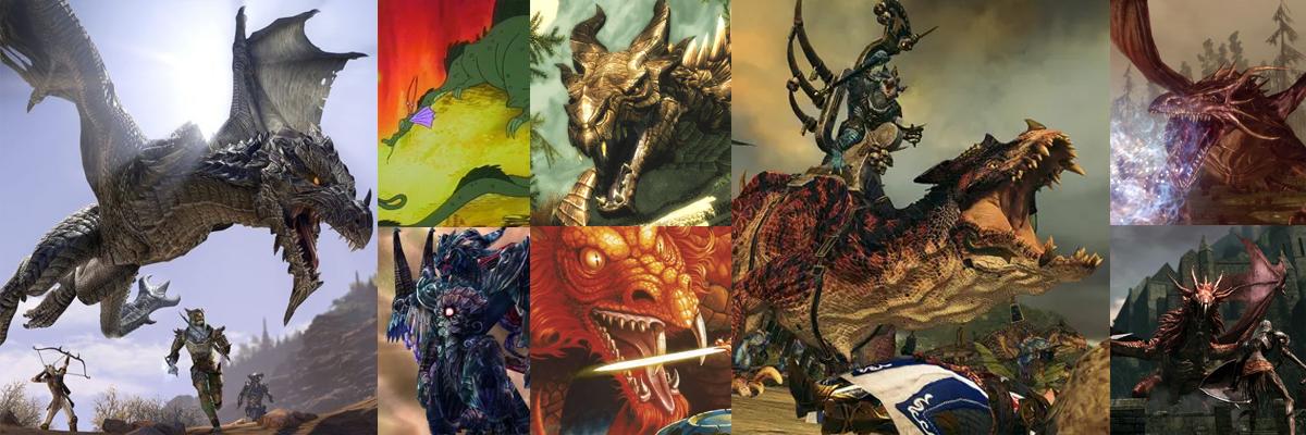 ¿Qué dragón de videojuego eres?