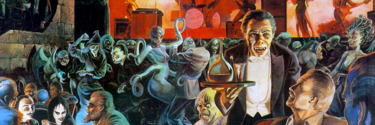 Galería de terror – Gótico remix – Master of Darkness y El club de los monstruos