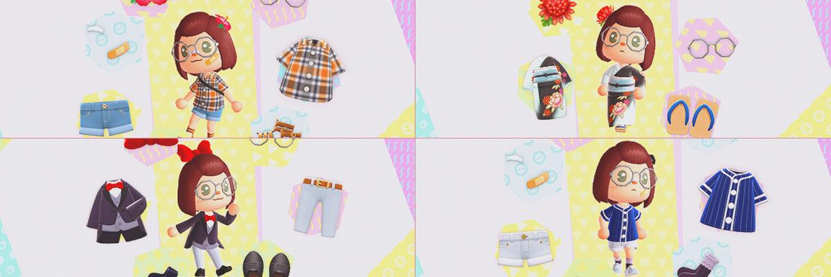 Elige entre estas opciones y te diremos qué ropa del ACNH eres
